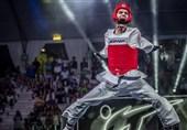 فینال مسابقات تکواندو گرندپری| حسینی با شکست مقابل قهرمان المپیک از رسیدن به مدال برنز بازماند