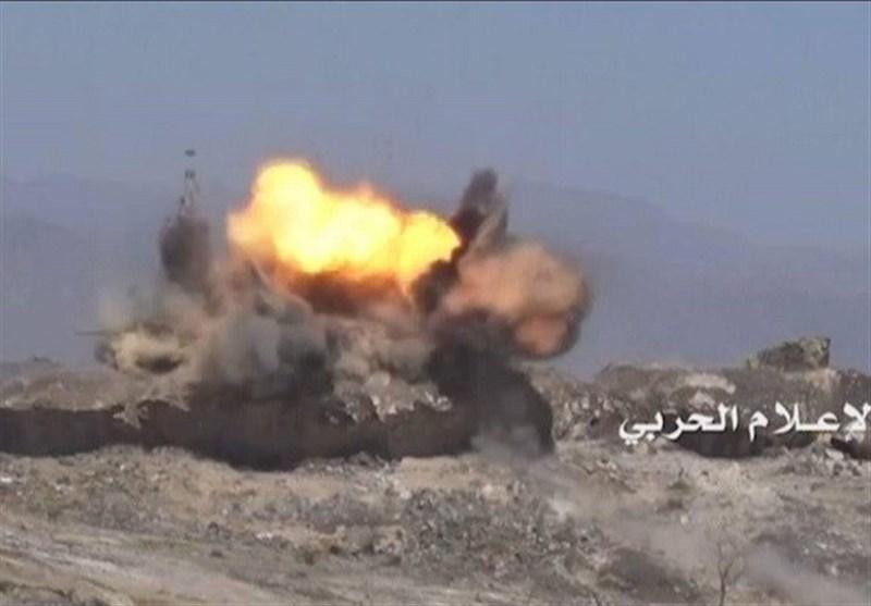 گرفتار شدن شماری از مزدوران ارتش سعودی در کمین نیروهای یمنی