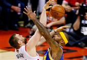 فینال لیگ NBA| پیروزی میلیمتری وریرز در کانادا/ رپتورز در انتظار بازی ششم + عکس