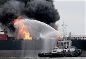 Russian Tanker Explodes in Caspian Sea Port of Makhachkala