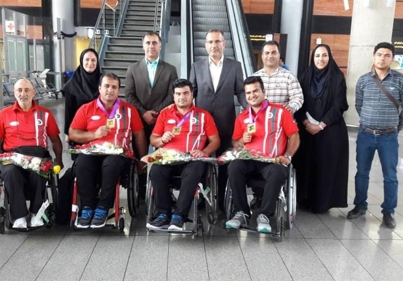 بازگشت تیم پاراتیروکمان از مسابقات جهانی هلند