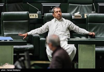 محمدباسط درازهی در جلسه علنی مجلس شورای اسلامی