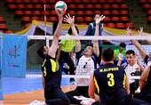 والیبال نشسته قهرمانی آسیا-اقیانوسیه| ثبت سومین پیروزی پیاپی در کارنامه ایران+تصاویر