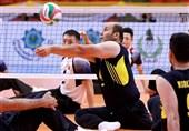 والیبال نشسته قهرمانی آسیا - اقیانوسیه| پنجمین برد ایران مقابل ژاپن رقم خورد