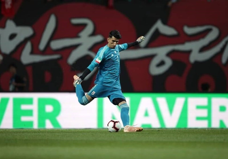 Iran's Beiranvand among Five Asian FIFA World Cup Heroes