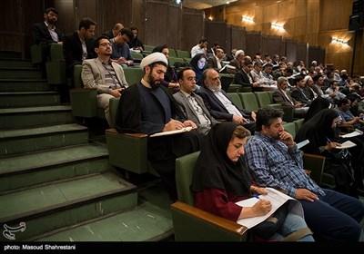 حجتالاسلام والمسلمین رستمی نماینده مقام معظم رهبری در دانشگاهها در هشتمین کنفرانس الگوی اسلامی ایرانی پیشرفت