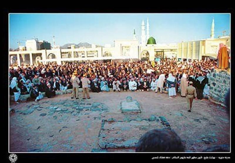 نمایش عکسهای کمتر دیده شده قبرستان بقیع در ایوان انتظار میدان ولیعصر(عج)