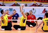 والیبال نشسته قهرمانی آسیا-اقیانوسیه| برتری آسان ایران مقابل قزاقستان در گام چهارم+تصاویر
