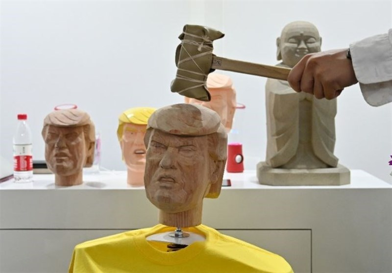 Likeness of Trump Gets Hammer in Head in China's CES Asia (+Video)