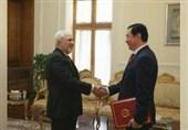 سفیر جدید چین استوارنامه خود را تسلیم ظریف کرد