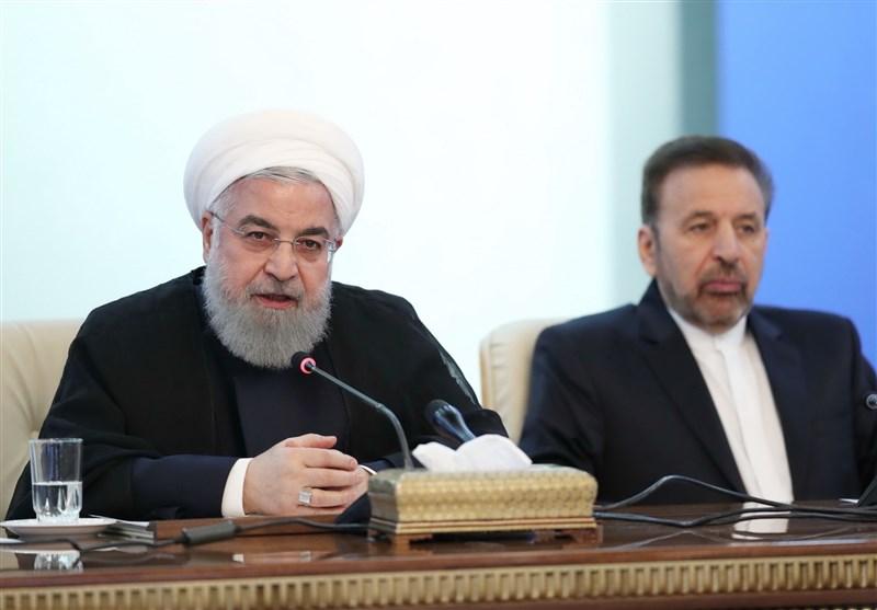 روحانی: همه مسئولین کشور نظر واحد و متحدی دارند/ مقصر اصلی آمریکاست