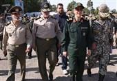 بازدید سردار باقری از دستاوردهای پدافند هوایی ارتش