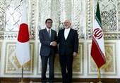 دیدار وزیر خارجه ژاپن با ظریف در تهران