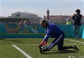 فوتبال جهان| شکست تیم سفرای یورو 2020 در سنپترزبورگ