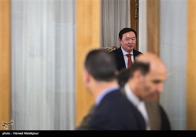 چانگ هووآ سفیر جدید چین در دیدار با وزیر امور خارجه