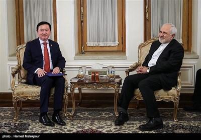 دیدار چانگ هووآ سفیر جدید چین با محمدجواد ظریف وزیر امور خارجه