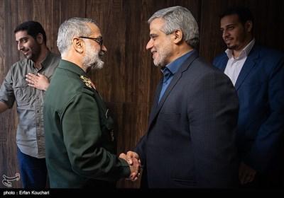 حضور سخنگوی ارشد نیروهای مسلح در خبرگزاری تسنیم