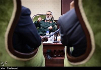 سردار ابوالفضل شکارچی معاون فرهنگی و تبلیغات دفاعی ستاد کل نیروهای مسلح