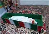 نخستین تصاویر از پیکر مطهر «فرمانده حیدر» سوریه