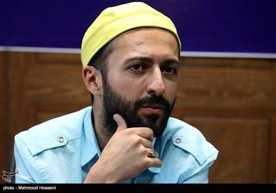 حسام محمودی در نشست خبری عوامل سریال دل دار