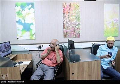 حسام محمودی و بهزاد فرهانی در نشست خبری عوامل سریال دل دار