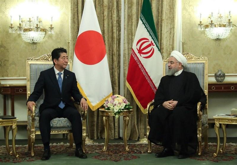 گمانه زنی رسانه ژاپنی از محتوای احتمالی مذاکرات روحانی و آبه