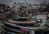 حمله هوایی رژیم صهیونیستی به رفح/نوار غزه در محاصره دریایی کامل قرار گرفت