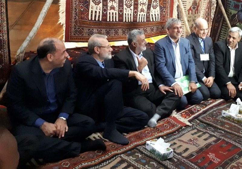 لاریجانی: با اذن مقام معظم رهبری برای تامین آب عشایر تصمیمات خوبی گرفته شد
