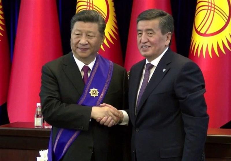 اعطای نشان ماناس به رئیسجمهور چین از سوی جینبیکاف