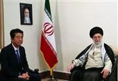 «شینزو آبه» با امام خامنهای دیدار کرد