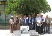 گلباران مزار شهید ایرانی نبرد با اسرائیل توسط قدیمیهای روایت فتح + فیلم
