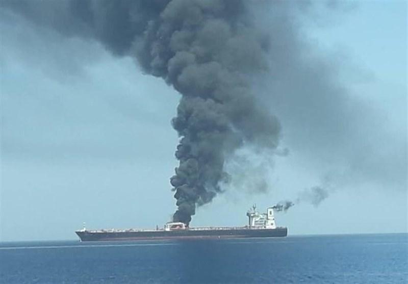 تحلیل تسنیم درباره انفجار نفتکشها در دریای عمان: چرا انگشت اتهام متوجه آمریکاست؟