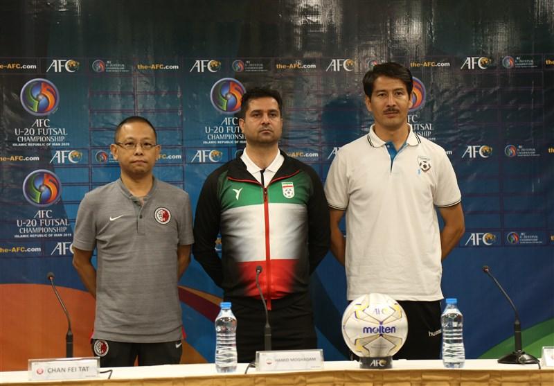 فوتسال قهرمانی زیر 20 سال آسیا  سرمربی افغانستان: با تساوی مقابل ایران هم به عنوان صدرنشین صعود میکنیم