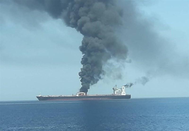 لماذا توجه أصابع الإتهام لأمریکا بشأن حادث ناقلتی النفط فی بحر عمان؟