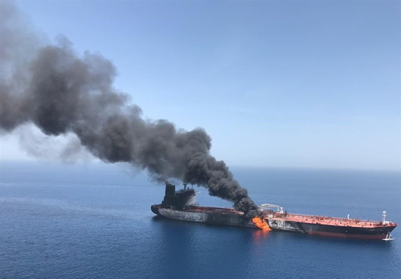 تکرار/ تحلیل تسنیم درباره انفجار نفتکشها در دریای عمان: چرا انگشت اتهام متوجه آمریکاست؟