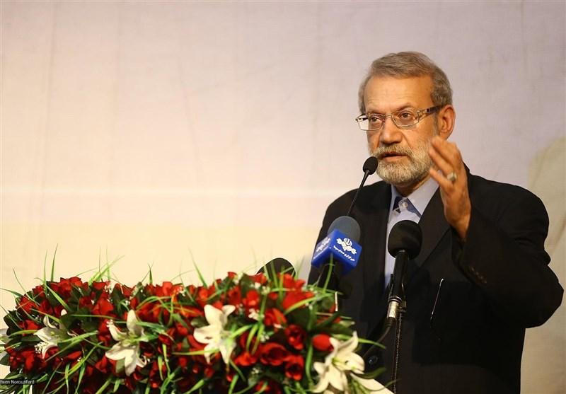 لاریجانی: پاسخ مقام معظم رهبری بسیار روشن بود؛ با آمریکا مذاکره نمیکنیم
