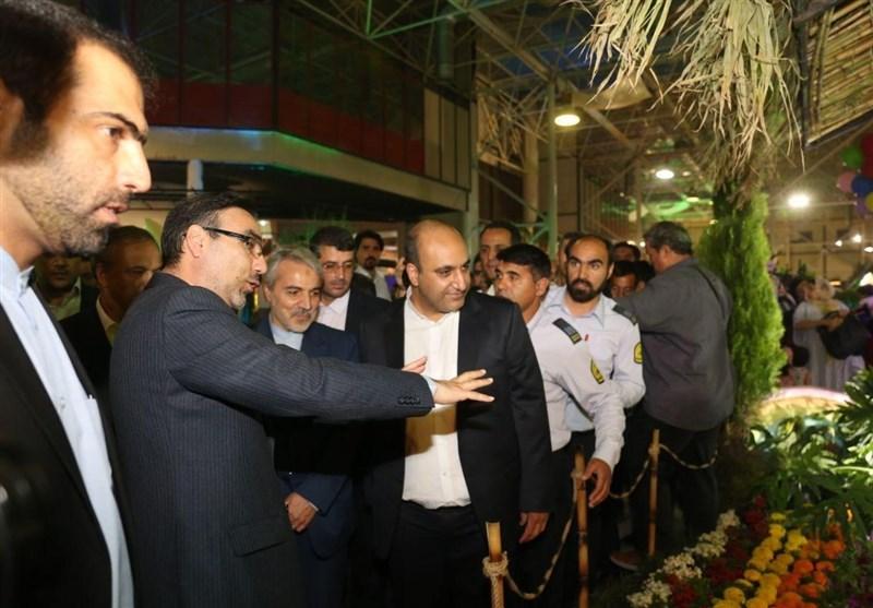 نمایشگاه بینالمللی گل و گیاه مشهد افتتاح شد