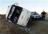 واژگونی اتوبوس در محور تبریز ـ زنجان؛ 3 نفر کشته و 20 نفر مجروح شدند