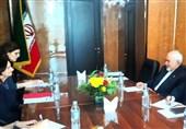 دیدار معاون سیاسی دبیرکل سازمان ملل با ظریف