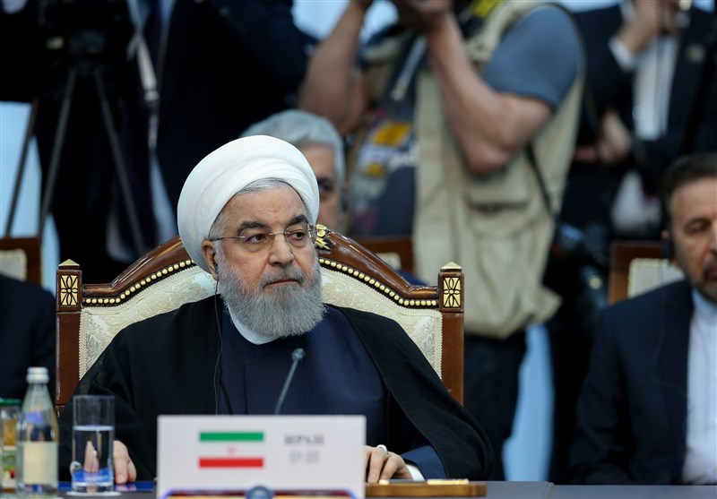 روحانی در اجلاس شانگهای: دولت آمریکا به تهدیدی جدی برای ثبات جهان تبدیل شده است