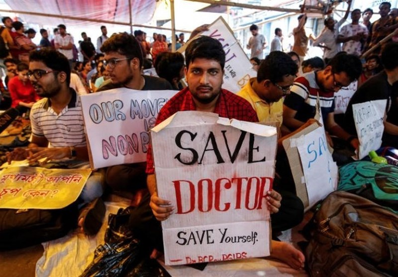Indian Doctors Strike over Violence from Patients Families