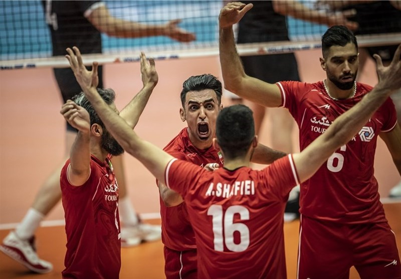 Iran Eases Past Canada at VNL 2019