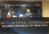 Iran Futsal Coach Says Expected A Tough Match against Afghanistan