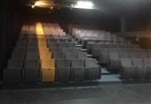 صندلیهای تالار چهارسو با افزایش ظرفیت نو شد