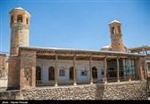 Two-Minaret Mosque in Iran's Saghez