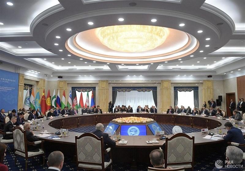 اجتماع رباعی لوزراء خارجیة إیران وروسیا والصین وباکستان على هامش قمة شنغهای