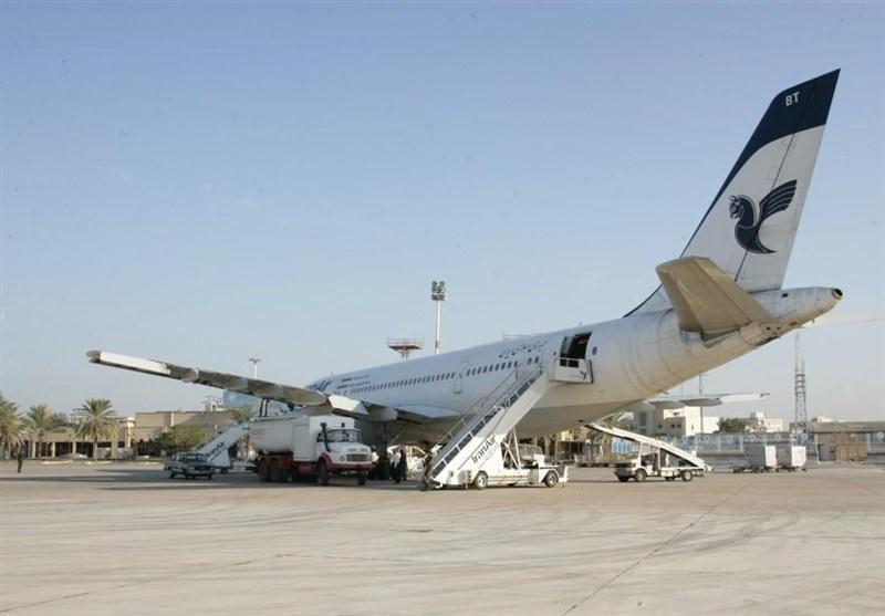 بوشهر  ماهانه 480 سورتی پرواز در فرودگاه خارگ انجام میشود