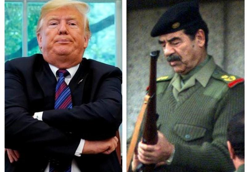 """گزارش تسنیم: تکرار طرح """"فریب و مذاکره"""" صدام توسط ترامپ"""