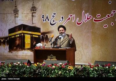 سخنرانی حجت الاسلام نواب نماینده ولی فقیه و سرپرست حجاج ایرانی در همایش تیم های بهداشتی درمانی حج و زیارت
