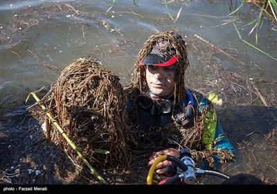 پاکسازی سراب نیلوفر توسط دوستداران محیط زیست